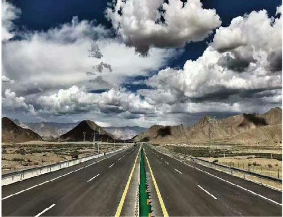 西藏日喀则机场至日喀则市专用公路新改建工程水保验收